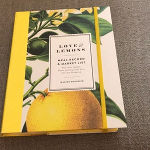 Love & Lemons Meal Record & Market list book